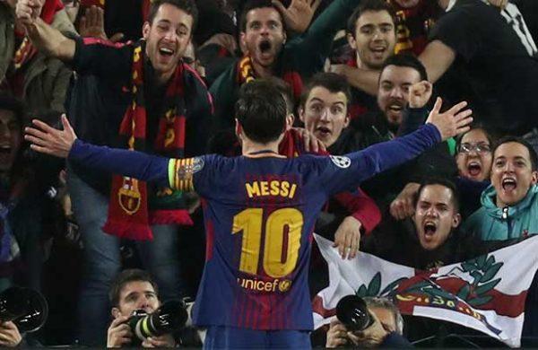 Lionel Messi alcanza la centena de goles en Champions 208eadb5560b5