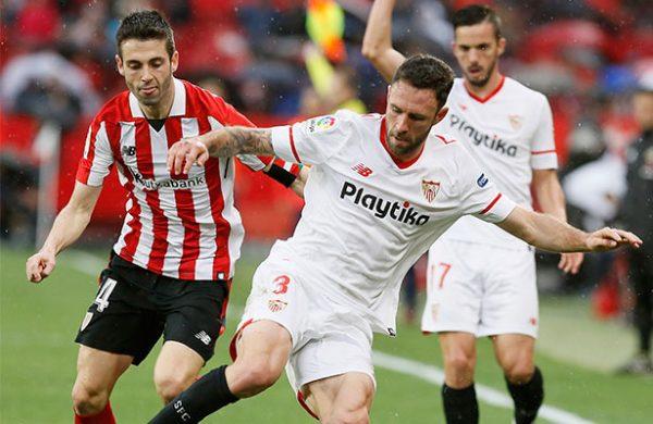 Vázquez aportó para la victoria de Sevilla