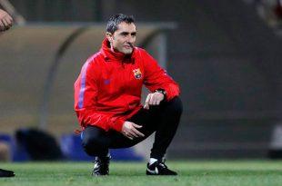 Habríamos firmado con sangre estar así: Ernesto Valverde