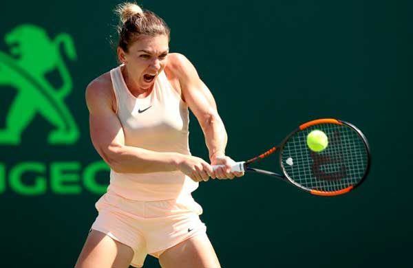 Topless simona halep naked the
