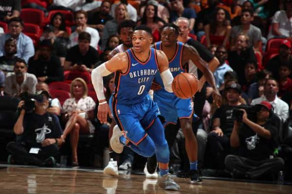 Thunder vence 115-93 al Heat y sella su boleto a playoffs