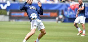 Zlatan Ibrahimovic alaba la calidad de Gio Dos Santos