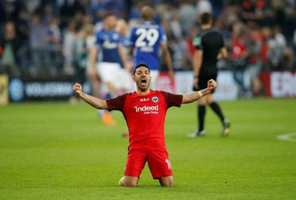 Partido en vivo: Schalke 04 vs Eintracht Frankfurt, DFB Pokal 2018