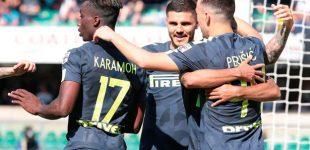 Inter de Milán gana y aprieta los lugares de Champions