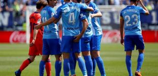 Moreno y la Real Sociedad cayeron ante el Málaga