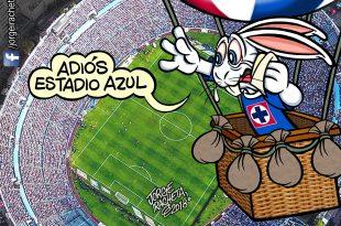 ¡Adiós, Estadio Azul!