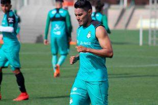 Santos ya prepara el cotejo ante Pumas