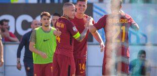 Roma se aferra a puestos de Champions tras ganar al Spal