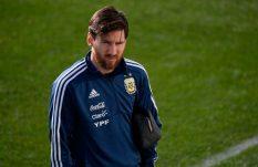 Messi llega a Argentina para reunirse con su selección