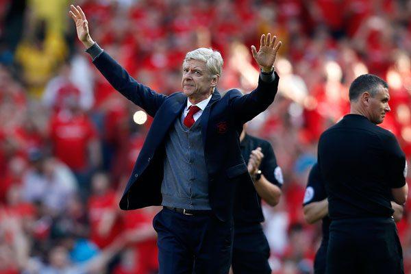 Habrá pasillo de honor a Arsene Wenger