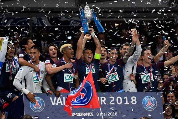 Lo Celso marcó en una nueva consagración del PSG