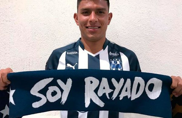Jesús Gallardo, nuevo refuerzo de Rayados — OFICIAL