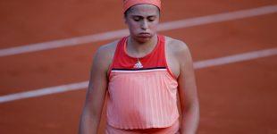 Ostapenko, vigente campeona, cae en primera ronda de Roland Garros