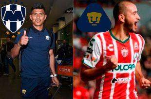 Gallardo, casi fuera; González, adentro de Pumas