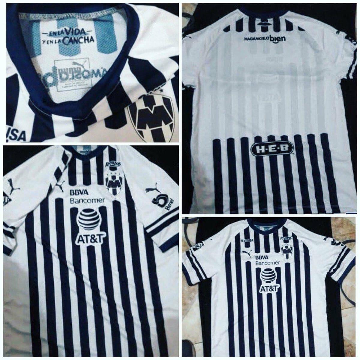 Filtran nuevo uniforme de local de Rayados 462f8c4d7bbf1