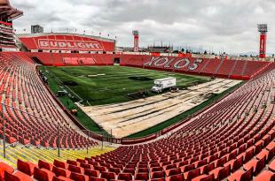 Xolos cambia el pasto del estadio Caliente