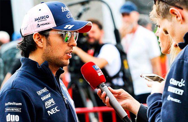 Sergio Pérez tiene regular desempeño en prácticas libres de GP de Mónaco