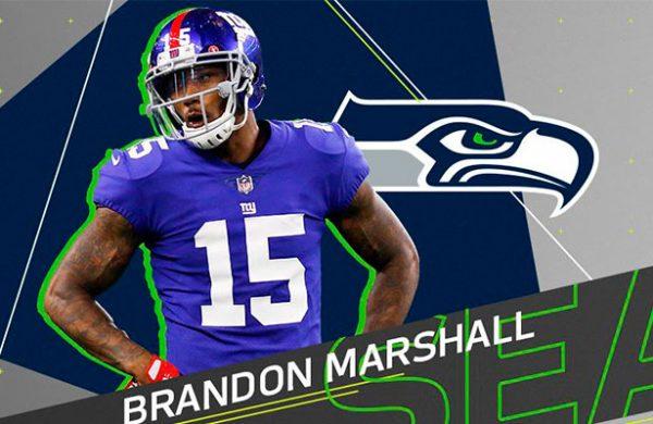 Brandon Marshall se une a Seahawks por una temporada