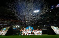 Real Madrid celebra la obtención de la Champions