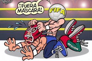FIFA prohibe máscaras en Rusia 2018