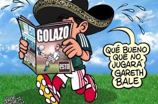 Gareth Bale, el ausente de Gales para enfrentar a México