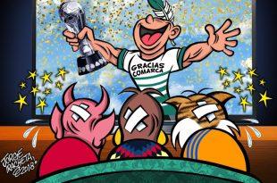 Santos celebró el campeonato con su gente
