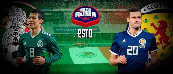 México vs Escocia  Horario 33cfc94627697
