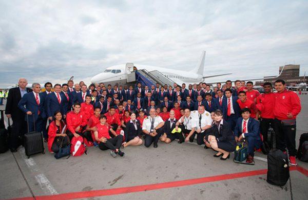 Selección Peruana deja concentración y parte rumbo a Suecia