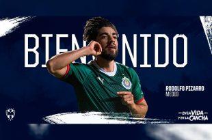 Oficial: Rodolfo Pizarro llega a Rayados de Monterrey