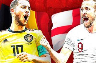 Bélgica e Inglaterra, por el tercer lugar
