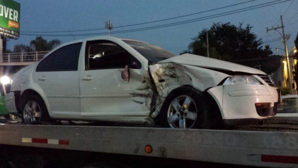 Jugador de Chivas sufre accidente automovilístico en Zapopan