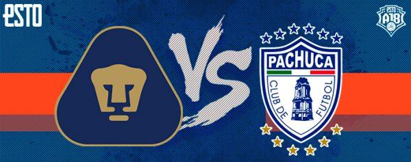 grabadora seta Birmania  Pumas vs Pachuca: Horario, fecha y transmisión, Jornada 4, Apertura 2018