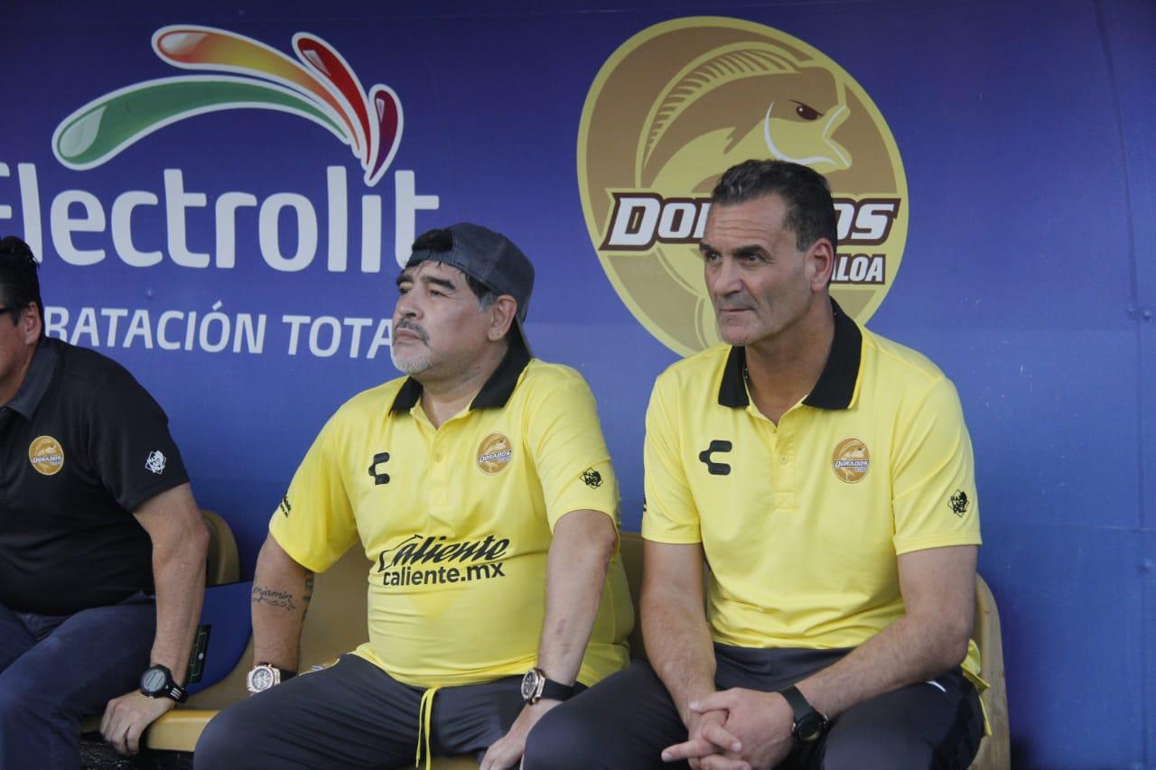 Maradona enloqueció con el triunfo épico de Dorados