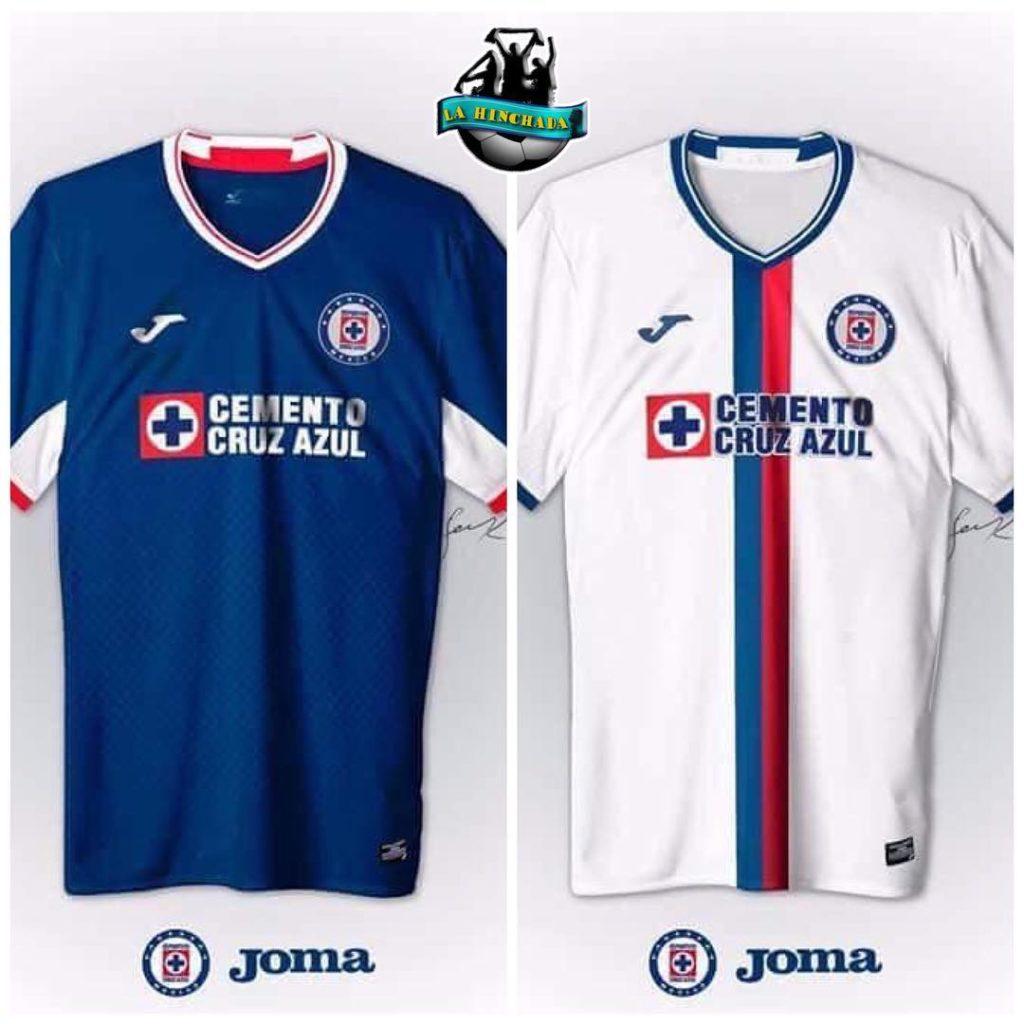 El nuevo uniforme de Cruz Azul  f8e75a5c849cd
