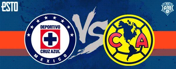 Cruz Azul Vs America 2018 >> Cruz Azul Vs America Horario Fecha Y Transmision Jornada 14
