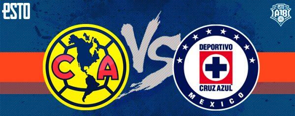 América vs Cruz Azul  Horario 4c770ccad560e
