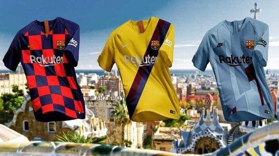 Filtran imágenes de los uniformes del Barça para la 19-20 f6b92d0923592