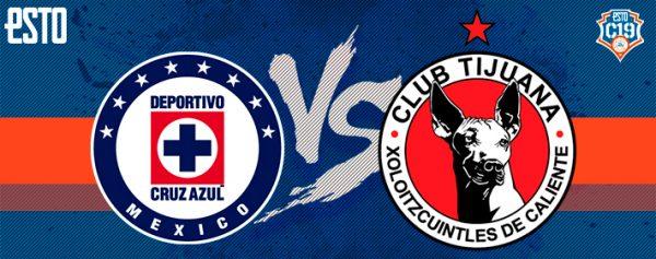Cruz Azul vs Xolos  Horario 519fe3f787ea4