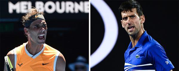 Nadal y Djokovic, listos para la batalla 82b1e81843