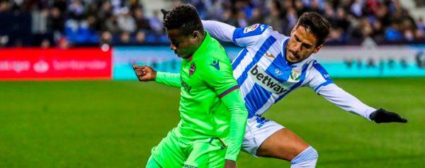Diego Reyes y el Leganés consiguen valioso triunfo sobre el Levante 1bff69a674ded