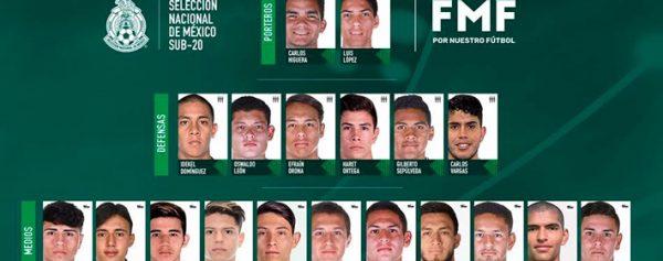 3a529e612c929 Selección Mexicana sub 20 realizará gira por Europa