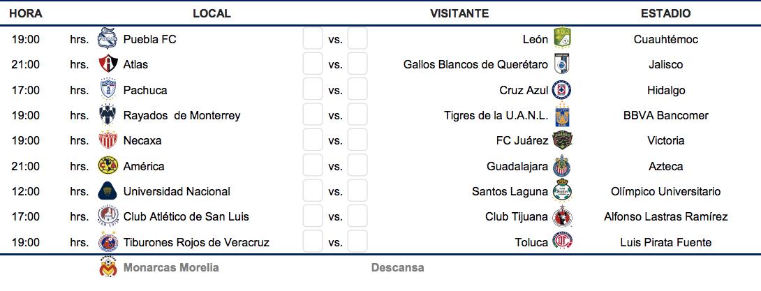 Calendario Liga Bbva 2020.Liga Bbva Calendario Clasificacion