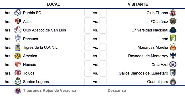 Calendario Liga Bbva 2020.Listo El Calendario Del Ap19