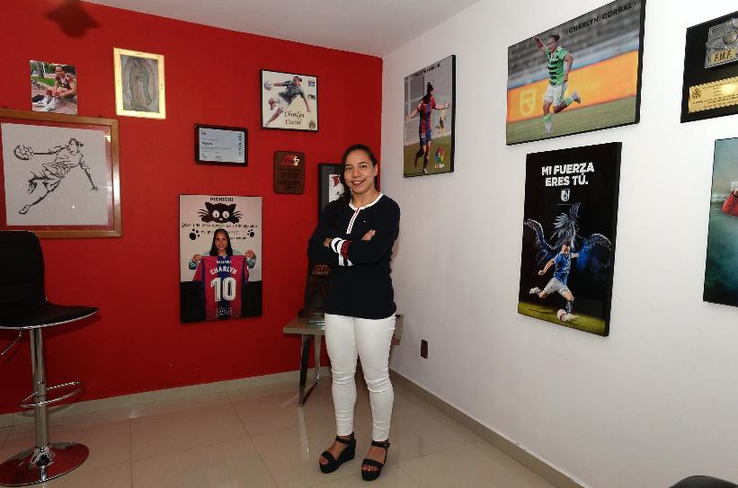Charlyn Corral, nueva jugadora del Atlético de Madrid Femenil