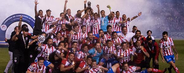 venta caliente online seleccione para mejor múltiples colores El Atlético San Luis llega a un acuerdo con ESPN