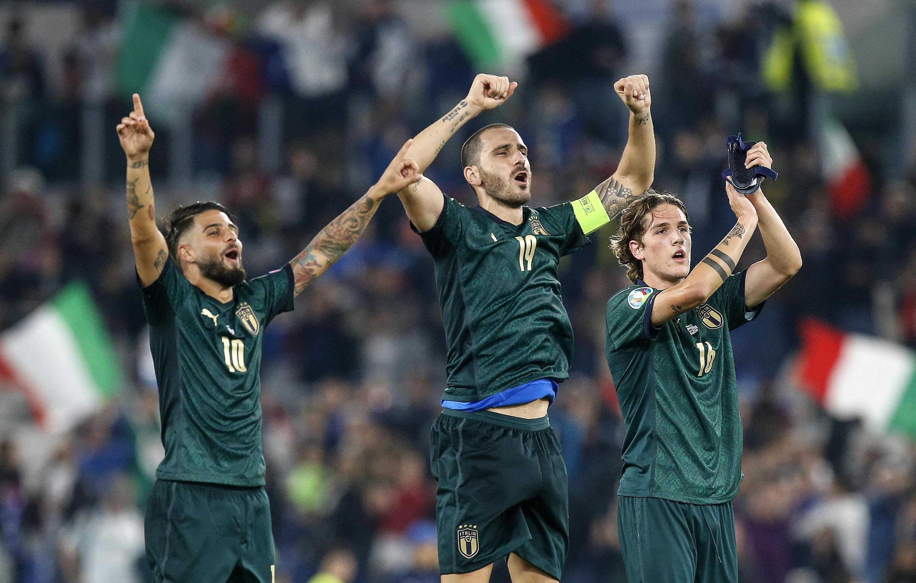 Italia tendrá varias ausencias ante Bosnia y Armenia Italia, ya clasificada para la Eurocopa 2020, juega - Esto
