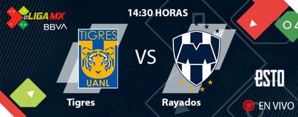 En vivo; Tigres vs Rayados: eLiga MX, Jornada 13