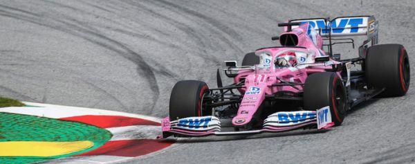 Checo' Pérez vuela en el Gran Premio de Estiria