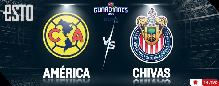 Clasico Nacional America Vs Chivas Horario Y Donde Ver En Vivo La Jornada 11 Del Guardianes 2020 Futbol Addict