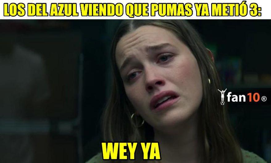 Los memes de la eliminación de Cruz Azul ante Pumas